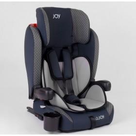 Универсальное автокресло JOY ISOFIX 24812 серо-синее