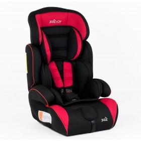 Автокресло Joy new 2066 V, красно-черное