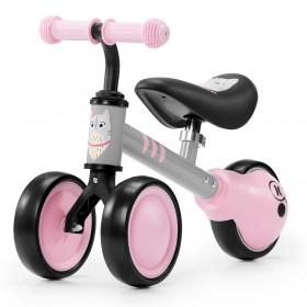 Біговел-каталка Kinderkraft Cutie рожевий