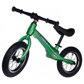 """Беговел Maraton Junior, магниевая рама, колеса 12"""", зеленый"""