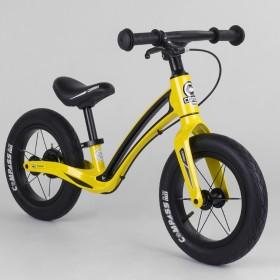 Беговел Corso Prime C7 Compass, 50457 Магниевая рама, 12 дюймов, барабанный тормоз, черно-желтый