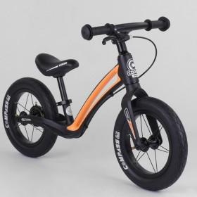 Беговел Corso Prime C7 Compass, 84209 Магниевая рама, 12 дюймов, барабанный тормоз, черно-оранжевый