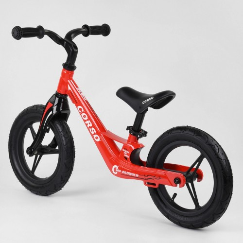 Беговел Corso Energy 66650, (велобег) магниевая рама, красный