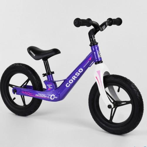 Беговел Corso Energy 22709, (велобег) магниевая рама, фиолетовый