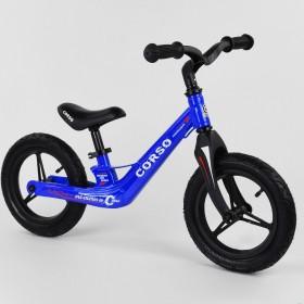Беговел Corso Energy 39182, (велобег) магниевая рама, синий