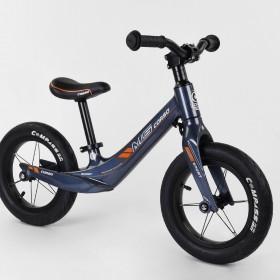 Беговел Corso MG Sport 46564, магниевая рама, подставка для ног, синий