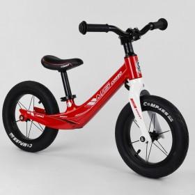 Беговел Corso MG Sport 10567, магниевая рама, подставка для ног, красный
