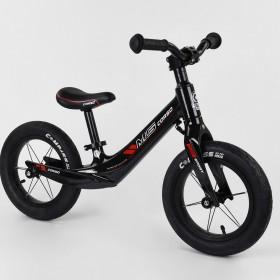 Беговел Corso MG Sport 36267, магниевая рама, подставка для ног, черно-красный