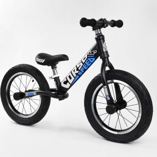 """Біговел Corso Speed Sport 14 """"(велобег), 32839, надувні колеса, чорно-синій"""