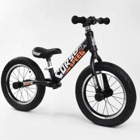 """Біговел Corso Speed Sport 14 """"(велобег), 53047, надувні колеса, чорно-помаранчевий"""