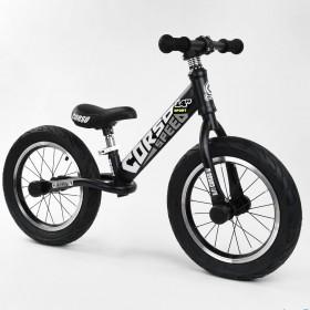 """Біговел Corso Speed Sport 14 """"(велобег), 65474, надувні колеса, чорно-сірий"""
