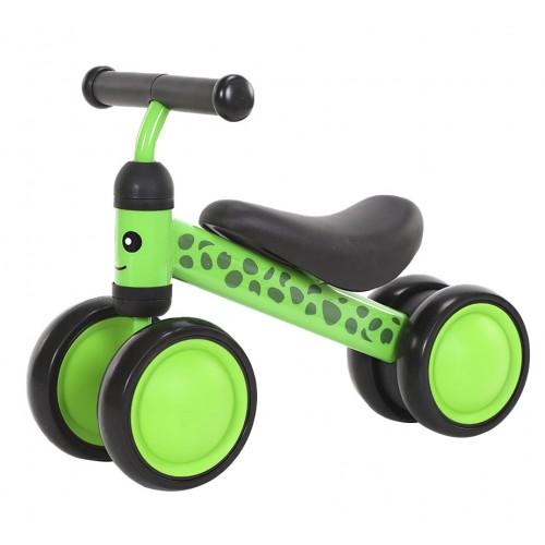 Беговел-каталка Tilly Goody, 4 колеса, от 1 года, вес 1.7 кг, зеленый