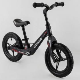 Беговел Corso Energy 46563, (велобег) магниевая рама, черный