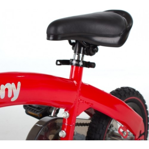 Велосипед - беговел Kidis Pony 6 в 1 красный