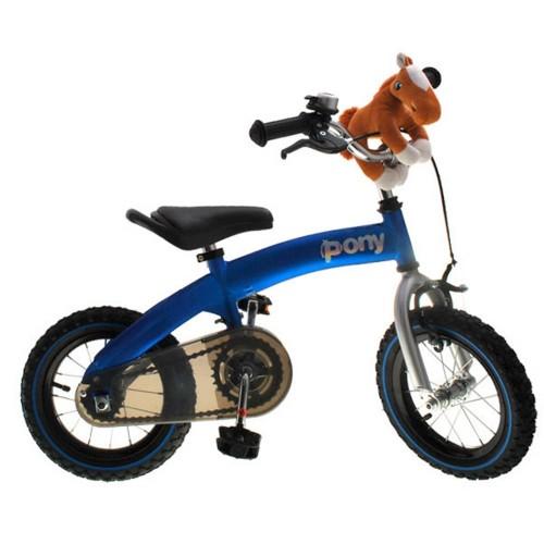Велосипед - беговел Kidis Pony 6 в 1 синий