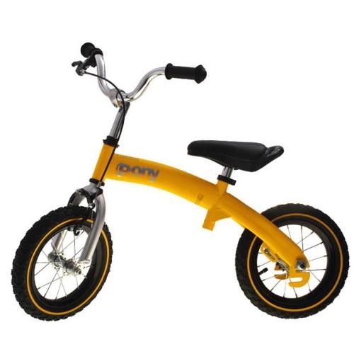 Велосипед - беговел Kidis Pony 6 в 1 желтый
