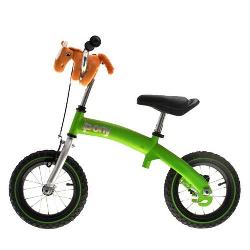 Велосипед - беговел Kidis Pony 6 в 1 салатовый