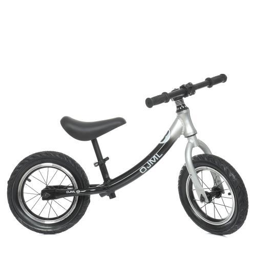 """Беговел PROFI KIDS М 0083-2 надувные колеса 12"""", серый"""