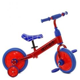 Беговел PROFI KIDS 2в1 с педалями М 5453 красный