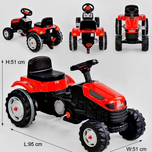 Педальный трактор Pilsan 07-314 красный