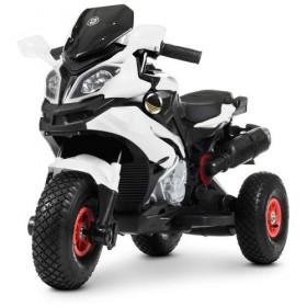Электромобиль детский Мотоцикл Bambi M 4188AL-1 белый