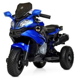 Электромобиль детский Мотоцикл Bambi M 4188AL-4 синий