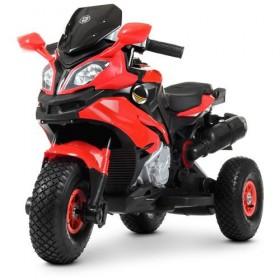 Электромобиль детский Мотоцикл Bambi M 4188AL-3 красный