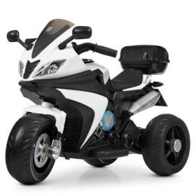 Электромобиль детский Мотоцикл Bambi M 4195EL-1, белый