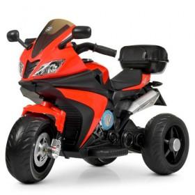 Электромобиль детский Мотоцикл Bambi M 4195EL-3, красный
