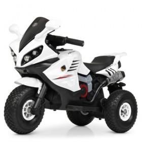 Электромобиль детский Мотоцикл Bambi M 4216AL-1, белый