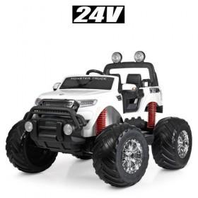 Электромобиль детский Джип Bambi M 4273EL-1 (24V), белый