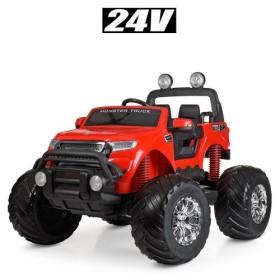 Электромобиль детский Джип Bambi M 4273EL-3 (24V), красный