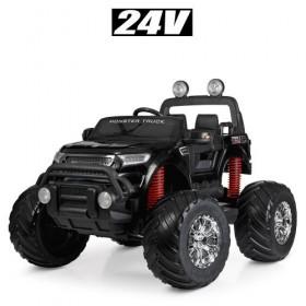 Электромобиль детский Джип Bambi M 4273ELS-2 (24V), черный