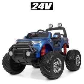 Электромобиль детский Джип Bambi M 4273ELS-4 (24V), синий