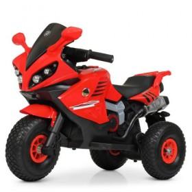 Электромобиль детский Мотоцикл Bambi M 4216AL-3, красный