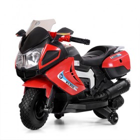 Мотоцикл Bambi M 3625EL красный