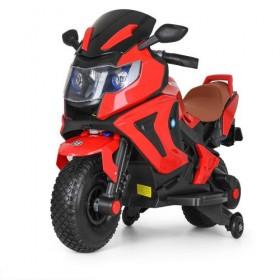 Электромобиль детский Мотоцикл Bambi M3681EL-3, красный