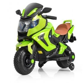 Мотоцикл Bambi M 3681ALS зеленый