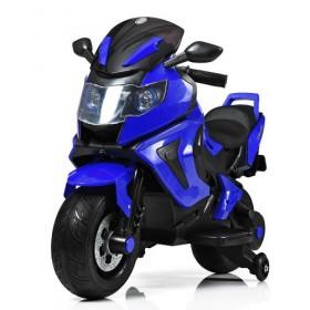 Электромобиль детский Мотоцикл Bambi M3681EL-4, синий