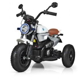Мотоцикл Bambi M 3687AL белый