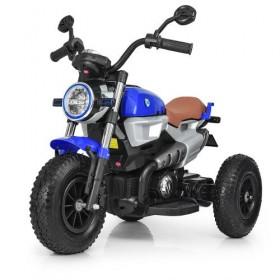 Мотоцикл Bambi M 3687AL синий