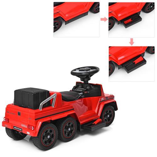 Электромобиль BAMBI M 3853EL красный
