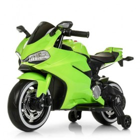 Электромобиль детский Мотоцикл Bambi M4104 ELS зеленый