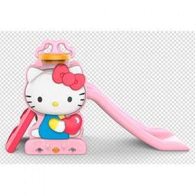 Гірка BAMBI Hello Kitty HK2018-1A з баскетбольним кільцем