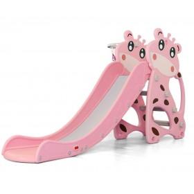 Горка Toti Жираф D-20299, розовая