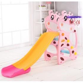 Горка Toti Жираф F-58901, розовая