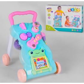 Музыкальная Каталка-ходунки 999-A-1, развивающая игрушка, от 9 месяцев