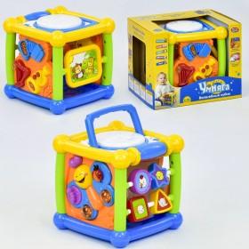 """Музична гра """"Чарівний куб"""" 7502 Play Smart, російське озвучення"""