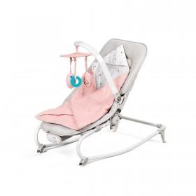 Шезлонг-качалка Kinderkraft Felio розовый
