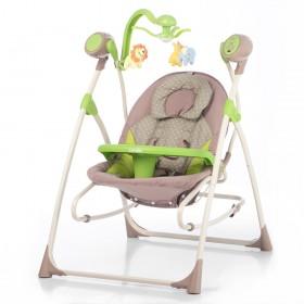 Колыбель - качели Carrello Nanny CRL 0005 зеленые